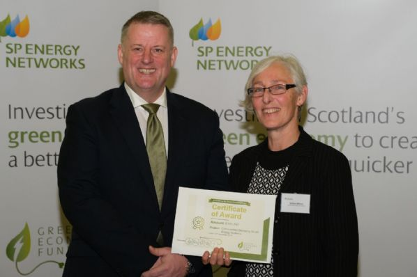 CES awarded over £110,000 from SP Energy Networks' Green Economy Fund